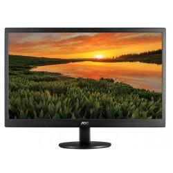 MONITOR LED AOC 18.5/ NEGRO HDMI / VGA / ASPECTO 16:9 / TIEMPO DE RESPUESTA 5 MS / VESA / 1366X768